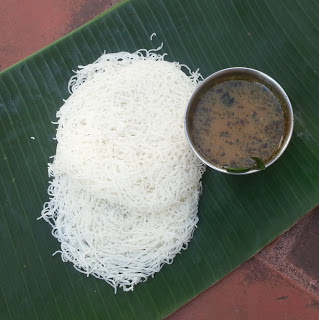 Idiyappam & Pepper soup