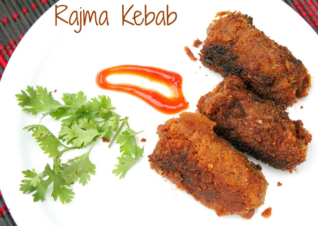 rajma kebab,rajma patties