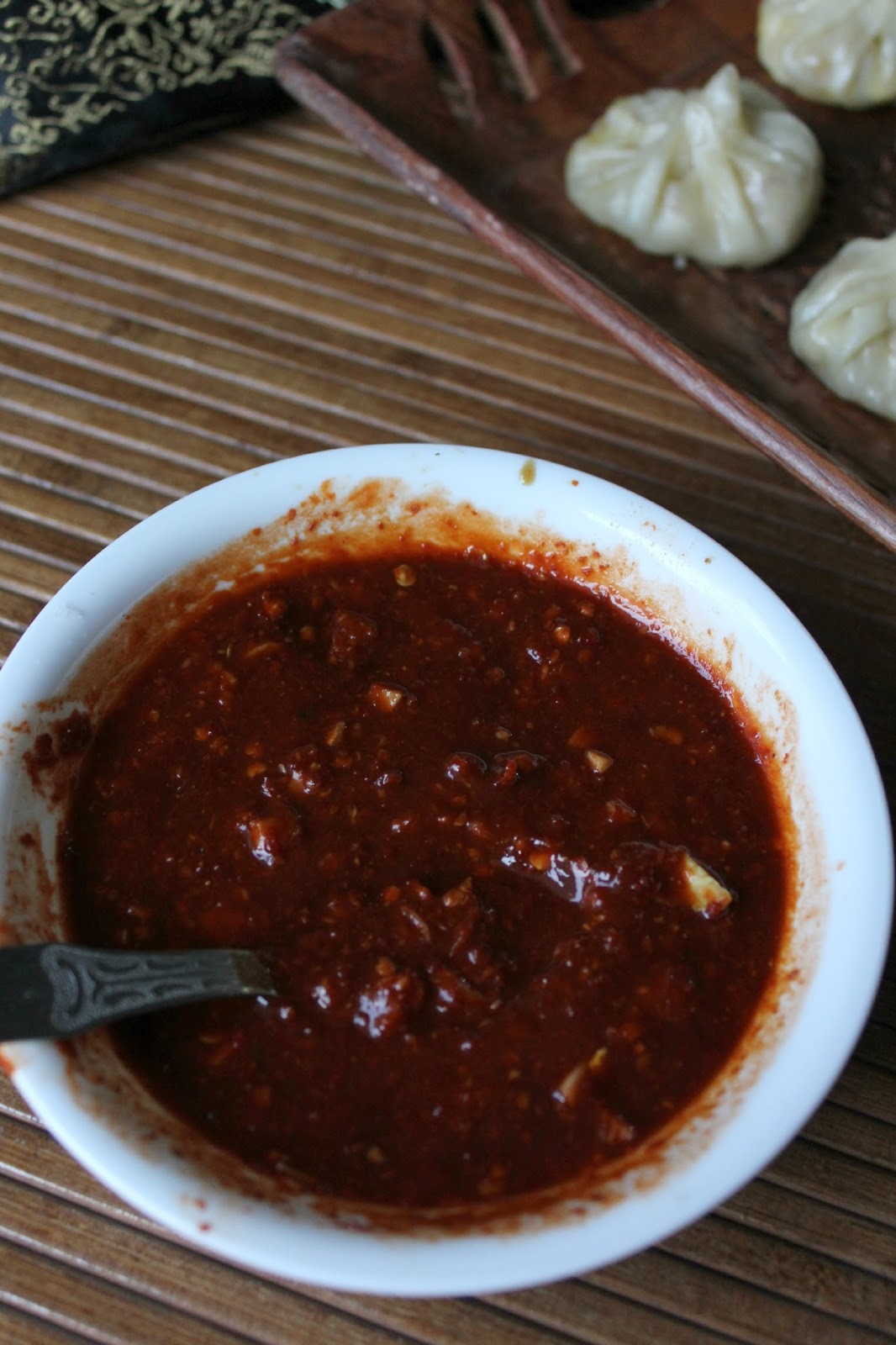 red chilli dip for momo,himarcha rowt