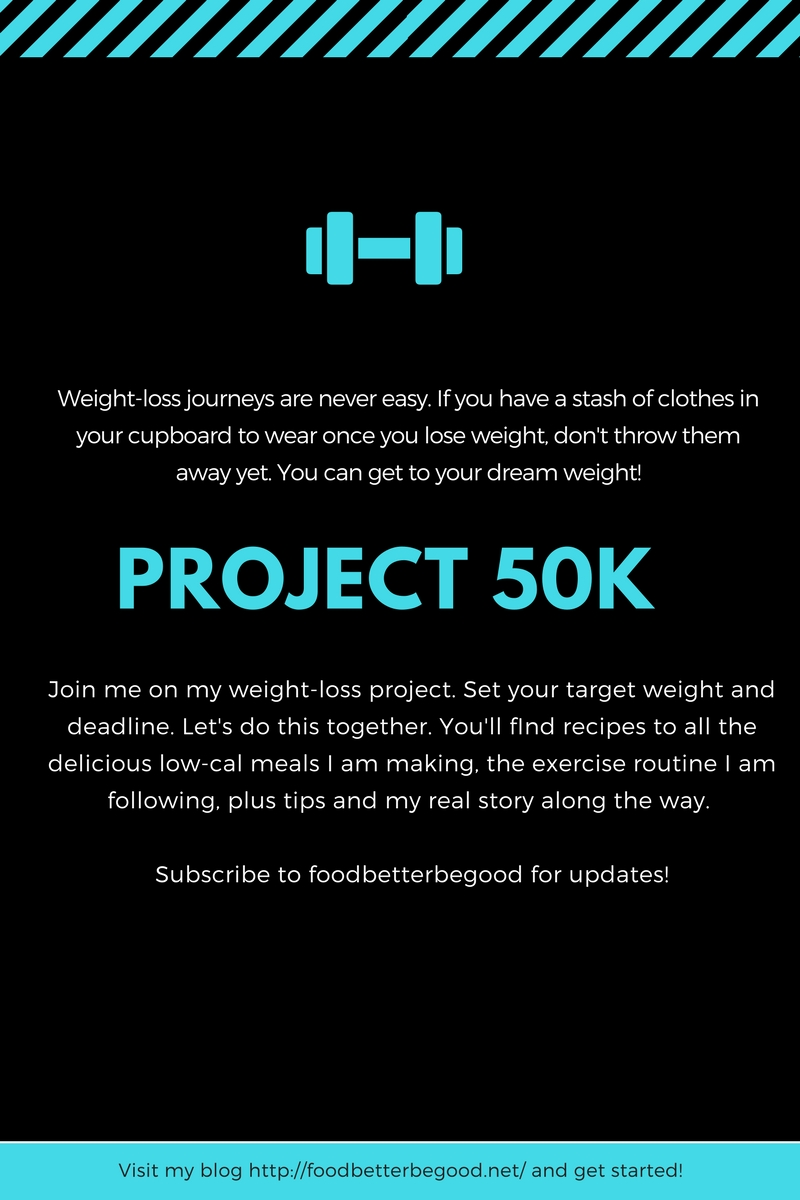 Project 50k - my weightloss project
