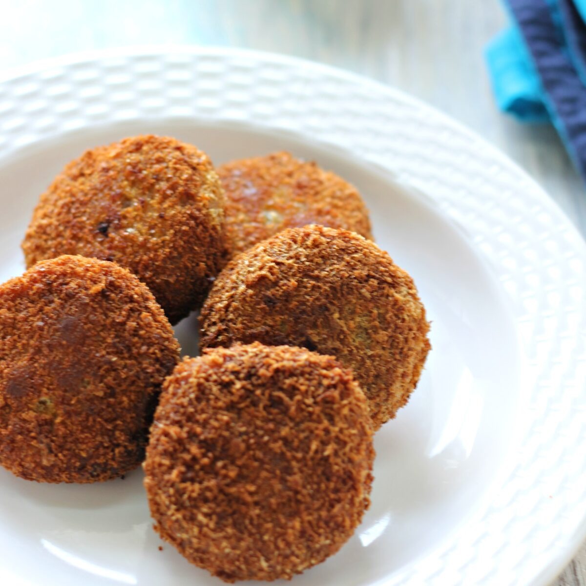 Chicken cutlet, easy make ahead party appetizer
